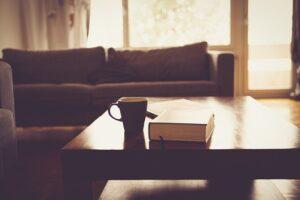 relaks w salonie